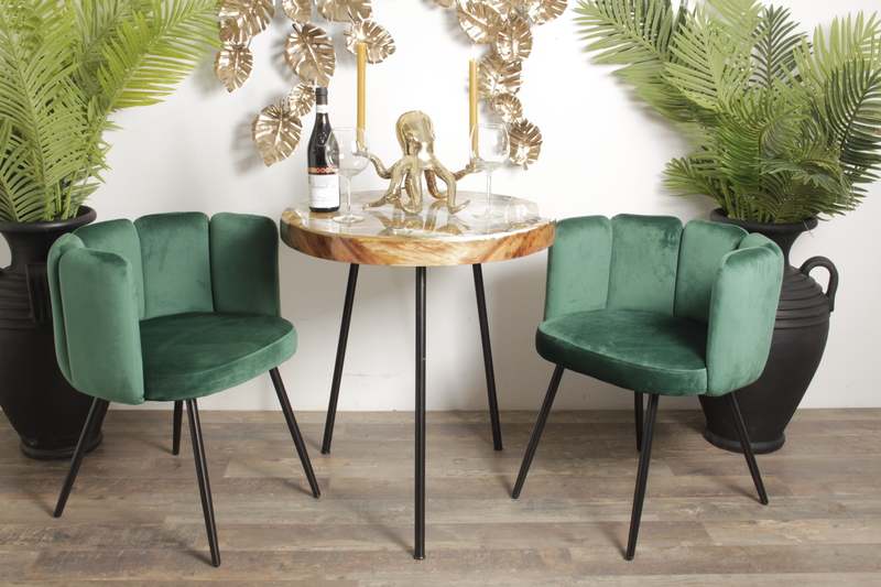 25 Astonishing Dining Chairs to Make Your Jaw Drop dining chairs 25 Astonishing Dining Chairs to Make Your Jaw Drop High Five Chair emerald green