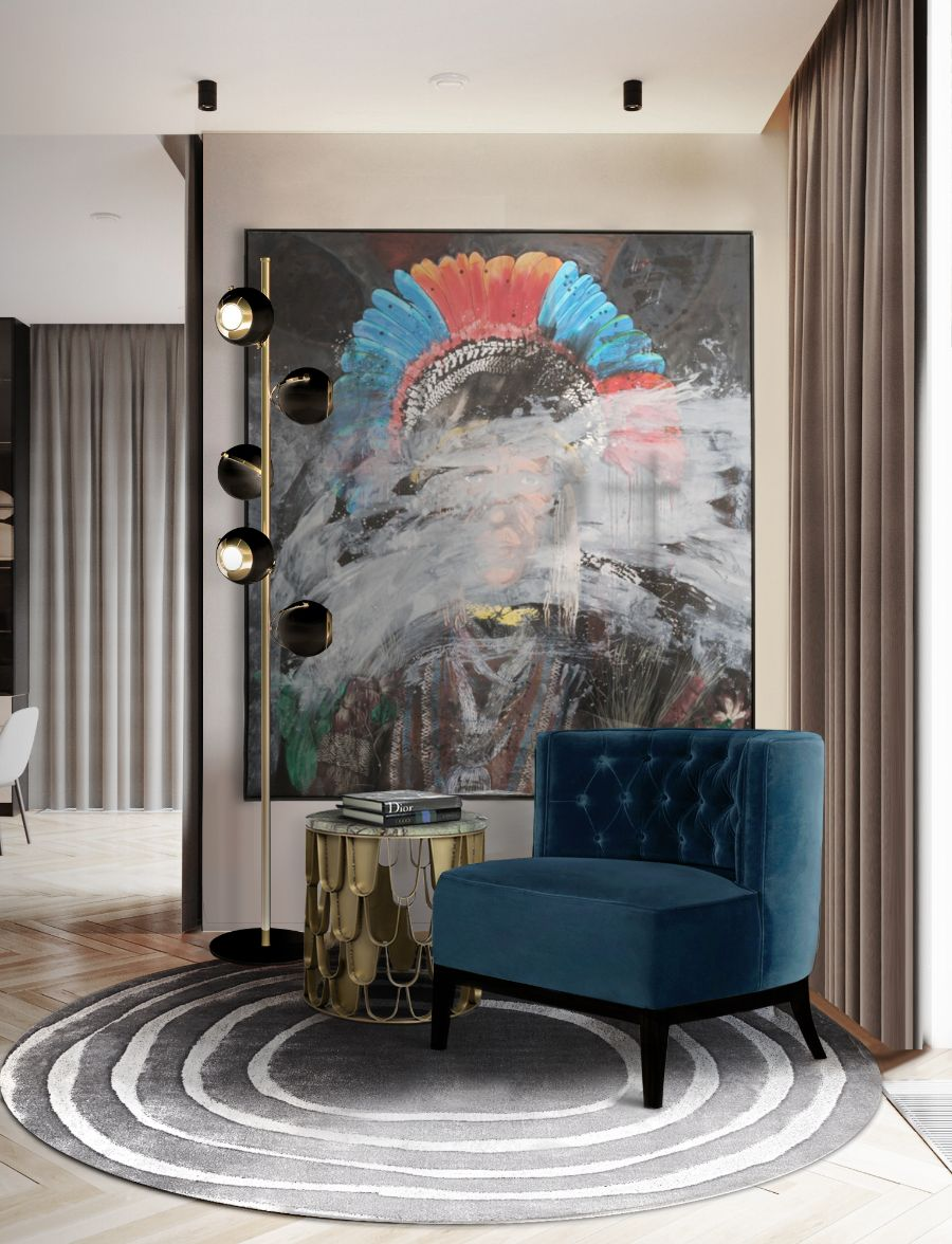 20 Armchairs to Bring The Ultimate Intense Style into Your Home armchairs 23 Armchairs to Bring The Ultimate Intense Style into Your Home Modern Designed Armchairs Top 20 of Timeless Designs for Every Decor 1