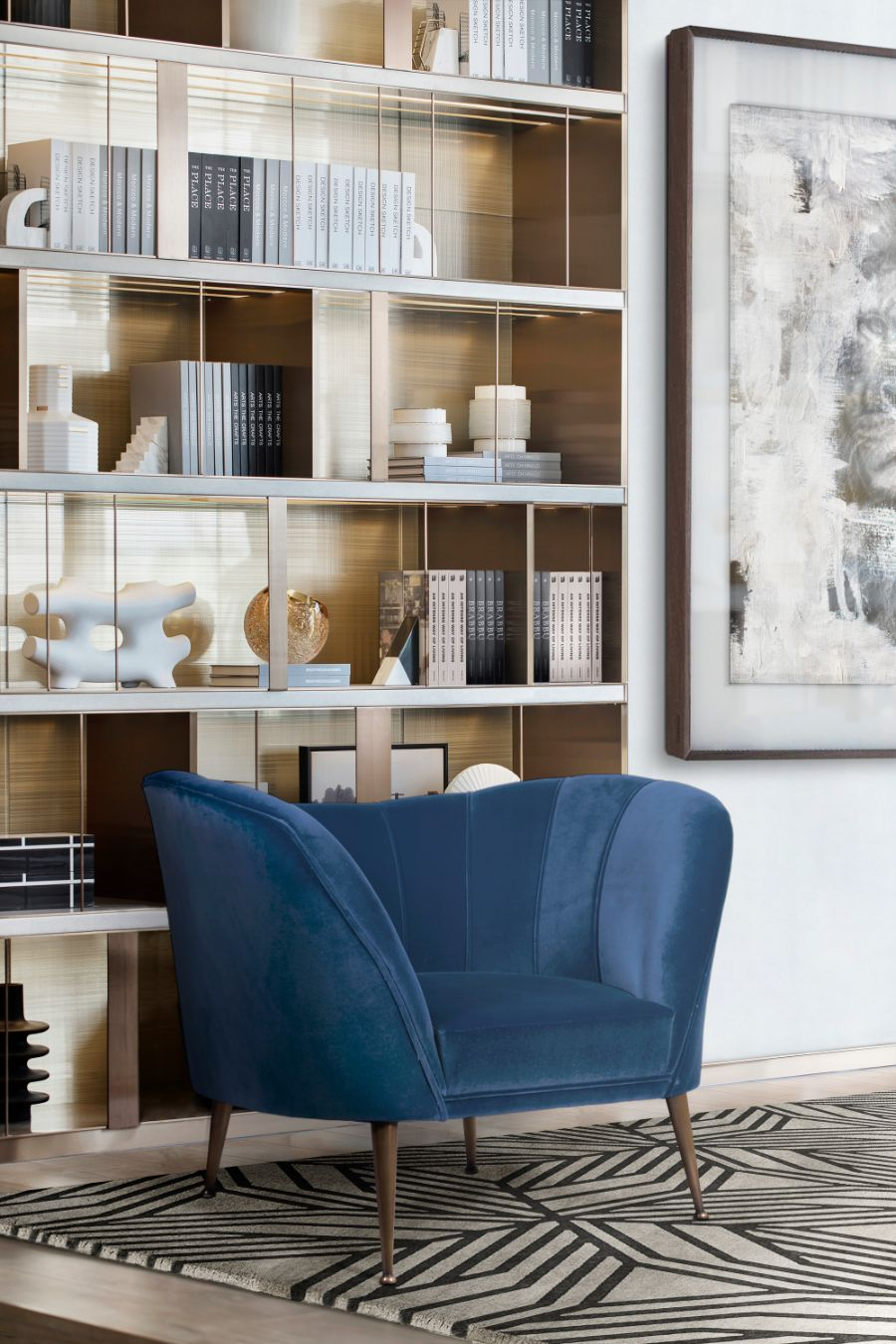 20 Armchairs to Bring The Ultimate Intense Style into Your Home armchairs 23 Armchairs to Bring The Ultimate Intense Style into Your Home Modern Designed Armchairs Top 20 of Timeless Designs for Every Decor 10