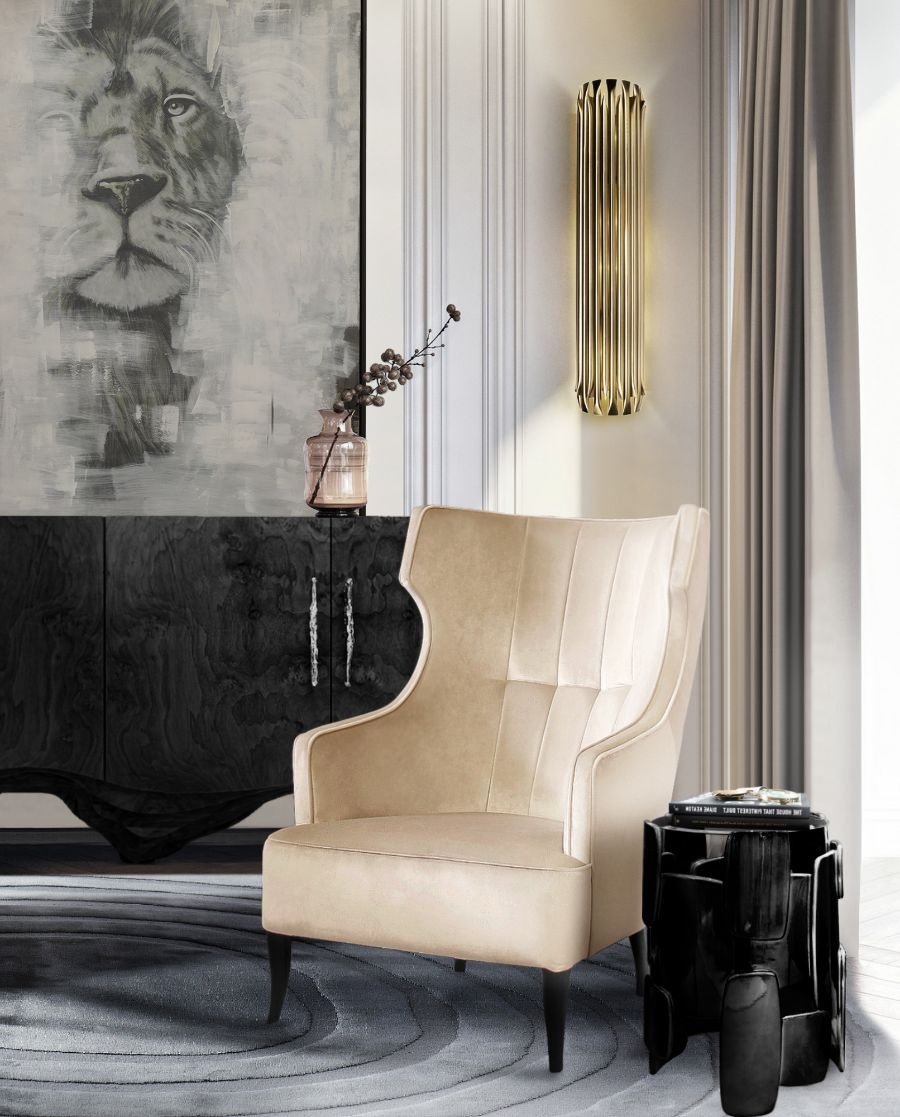 20 Armchairs to Bring The Ultimate Intense Style into Your Home armchairs 23 Armchairs to Bring The Ultimate Intense Style into Your Home Modern Designed Armchairs Top 20 of Timeless Designs for Every Decor 13