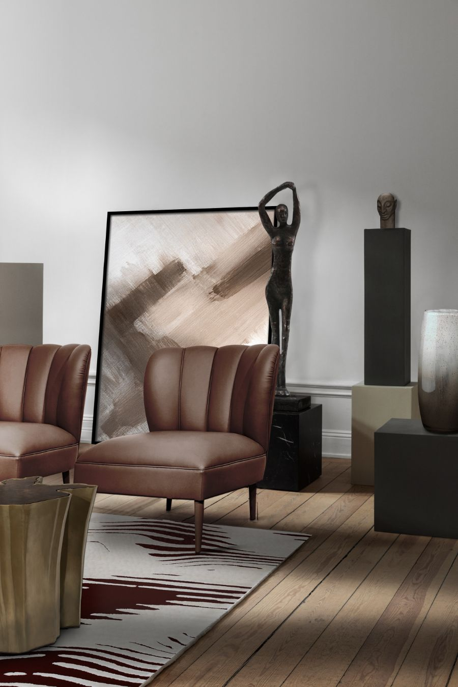 20 Armchairs to Bring The Ultimate Intense Style into Your Home armchairs 23 Armchairs to Bring The Ultimate Intense Style into Your Home Modern Designed Armchairs Top 20 of Timeless Designs for Every Decor 2
