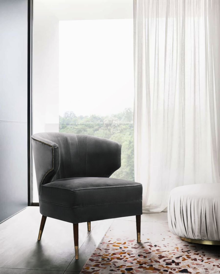 20 Armchairs to Bring The Ultimate Intense Style into Your Home armchairs 23 Armchairs to Bring The Ultimate Intense Style into Your Home Modern Designed Armchairs Top 20 of Timeless Designs for Every Decor 3