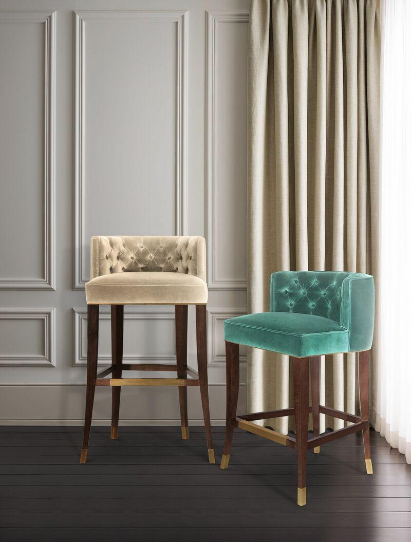 15 Stylish Bar Chairs That Will Dominate 2021 bar chairs 15 Stylish Bar Chairs That Will Dominate 2021 burbon bar chair