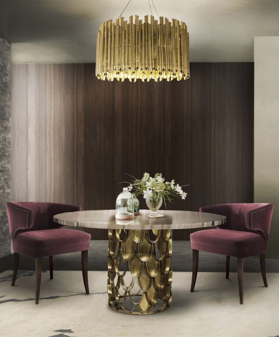 15 Dining Tables to Marvel at in 2021 dining tables 15 Dining Tables to Marvel at in 2021 koi