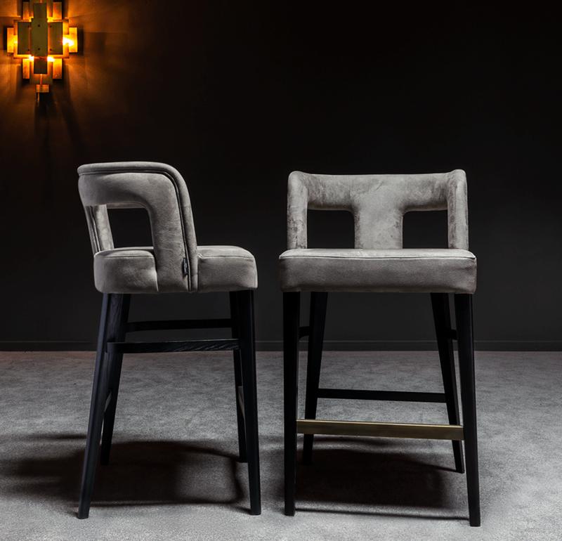 15 Stylish Bar Chairs That Will Dominate 2021 bar chairs 15 Stylish Bar Chairs That Will Dominate 2021 penelope bar stool