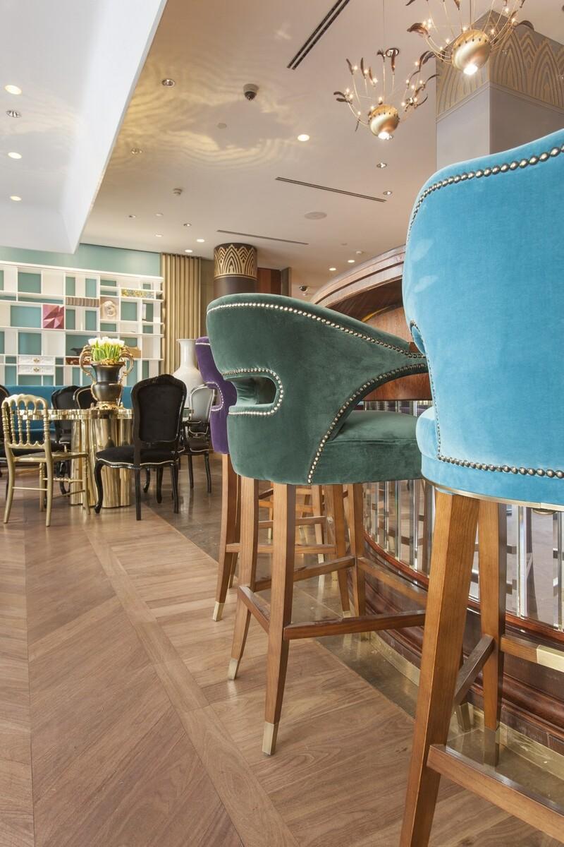 15 Stylish Bar Chairs That Will Dominate 2021 bar chairs 15 Stylish Bar Chairs That Will Dominate 2021 upholstered bar stools