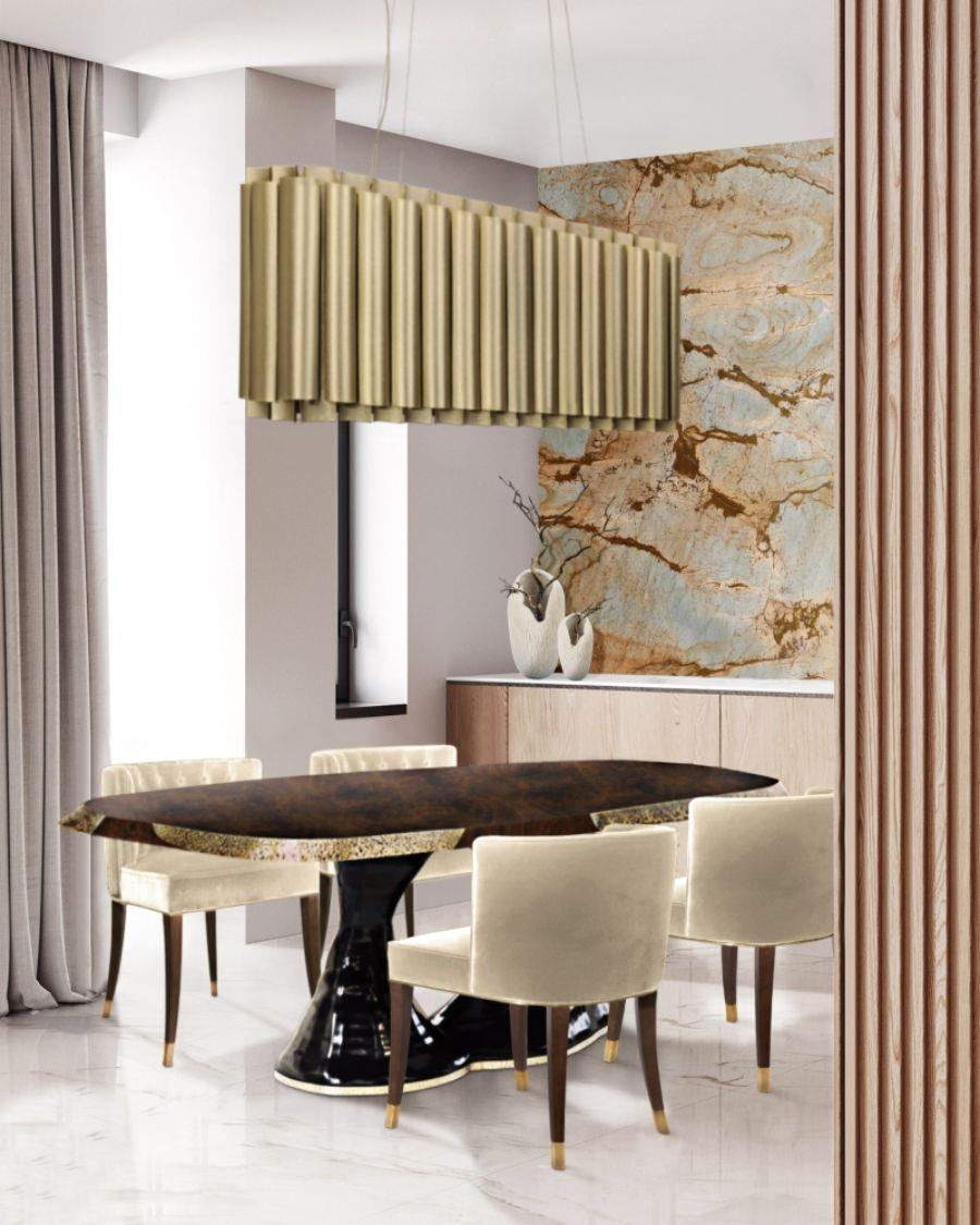 BRABBU's Dining Room Inspiration Design