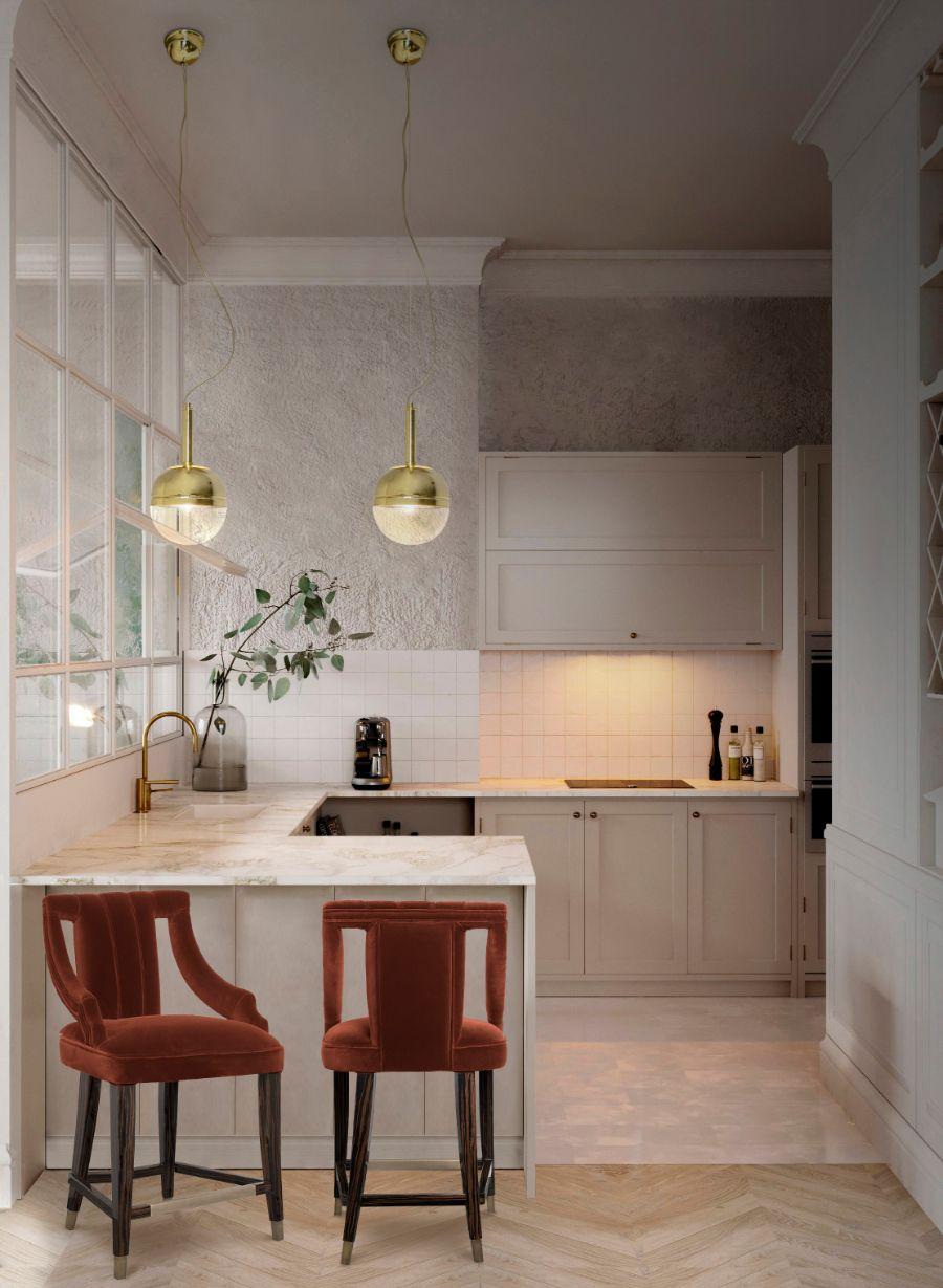Modern Kitchen Design: Colour Trends for The Summer