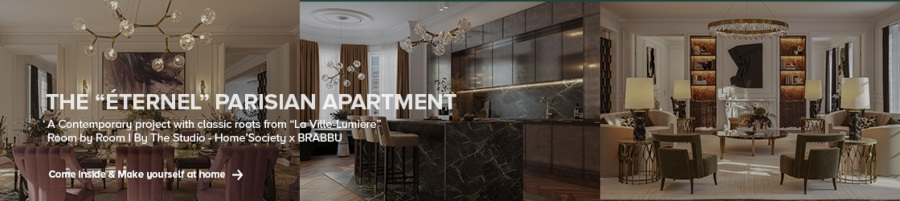 modern kitchen design Modern Kitchen Design: Colour Trends for The Summer the eternal parisian apartment 900 1