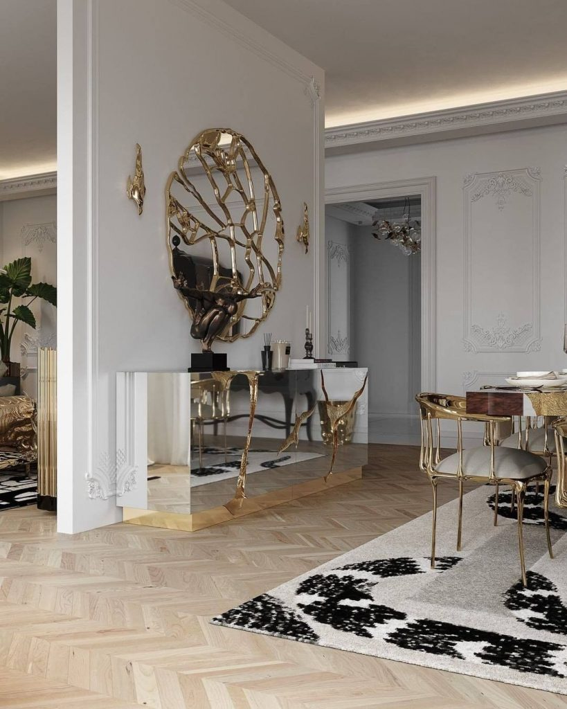 modern decor Room by Room Inspirations – Give Your Home a Modern Decor with BRABBU 1 Dining rooms are a crucial element in any household and thus needs to have the perfect design