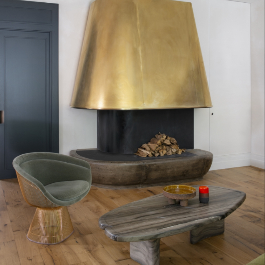 Enjoyable and Cosy Living Room Projects by Charles Zana