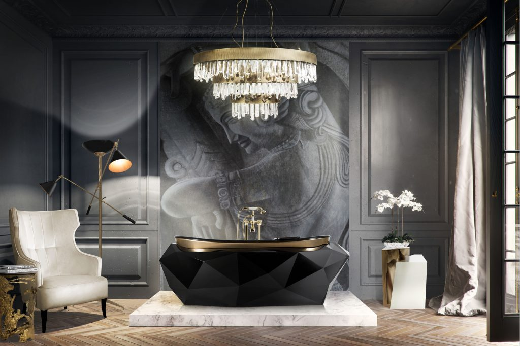 modern decor Room by Room Inspirations – Give Your Home a Modern Decor with BRABBU 8 A marvellous modern bathroom design