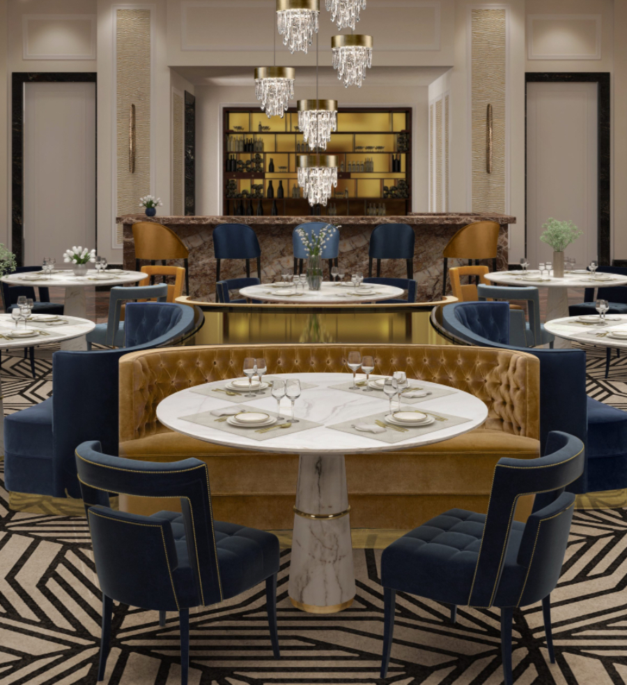 Iconic Restaurants Projects by GILLES & BOISSIER iconic restaurants projects Iconic Restaurants Projects by GILLES & BOISSIER BB Hotel Restaurant Iconic Restaurants Projects by GILLES BOISSIER