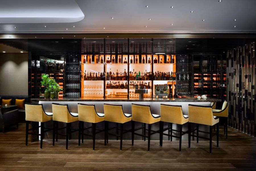 The Bold Interior Design Ideas from B+H Architects b+h architects The Bold Interior Design Ideas from B+H Architects BH Architects     Stratus Bar Restaurant 1