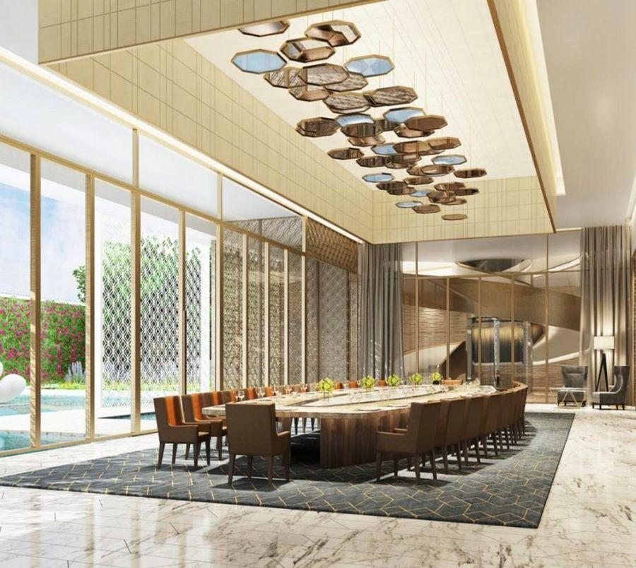 The Bold Interior Design Ideas from B+H Architects b+h architects The Bold Interior Design Ideas from B+H Architects BH Architects     The Carpet Garden Villa