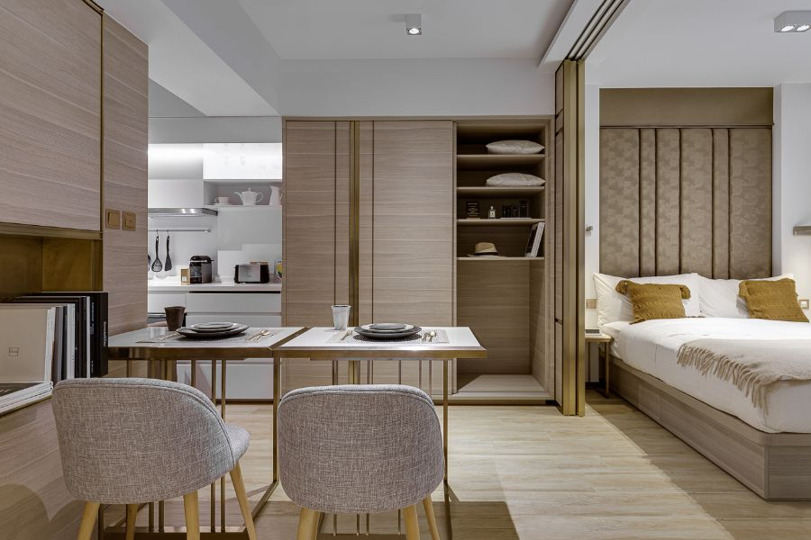 The Bold Interior Design Ideas from B+H Architects b+h architects The Bold Interior Design Ideas from B+H Architects BH Architects     The Humphreys Serviced Apartments Hong Kong