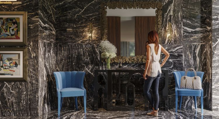 Interweave Entryway: The Modern Contemporary Inspiration from Madrid