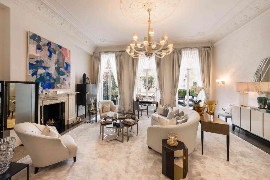 Katharine Pooley katharine pooley Katharine Pooley, One of Britain's Most Talented Interior Designers Katharine Pooley Knightsbridge Home