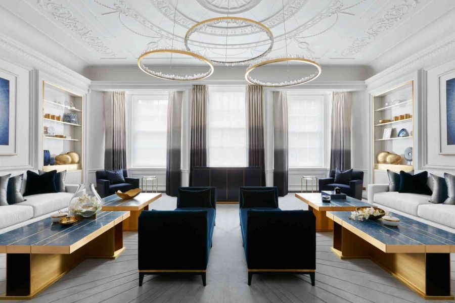 Katharine Pooley katharine pooley Katharine Pooley, One of Britain's Most Talented Interior Designers Katharine Pooley Mayfair Residence