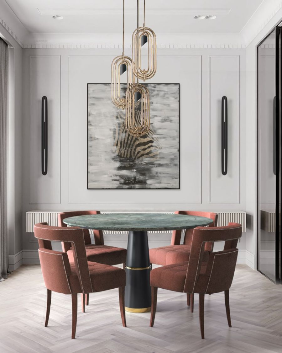 Modern Dining Room Interior Design: Fresh and Cool for the Summer