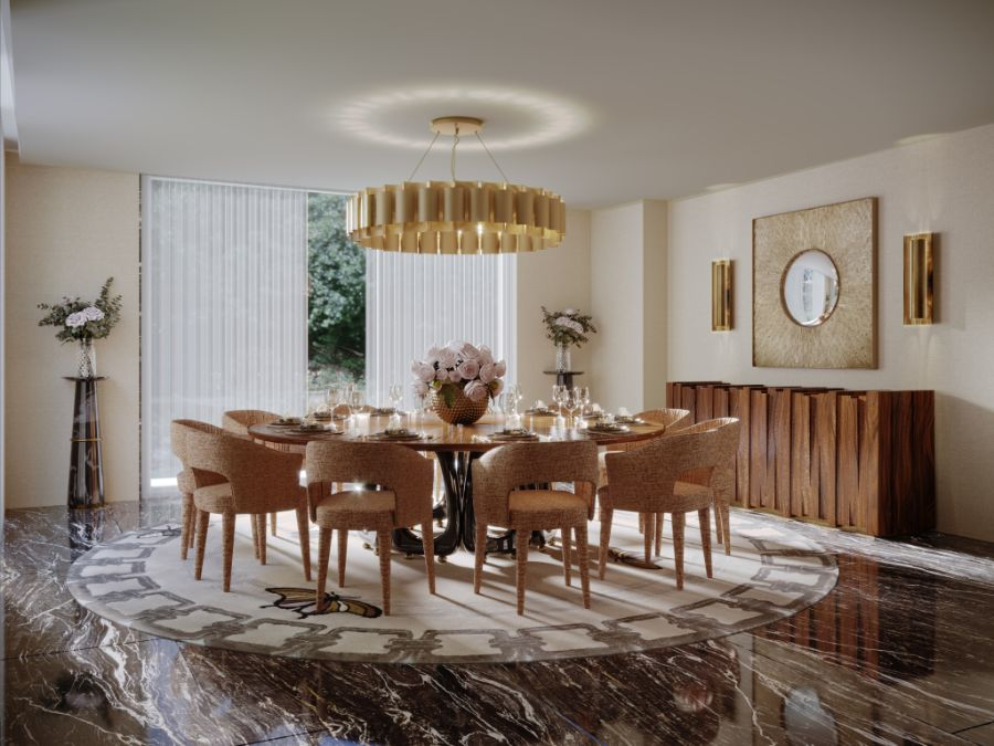 Modern Contemporary Dining Rooms: Uncover Timeless and Fierce Design