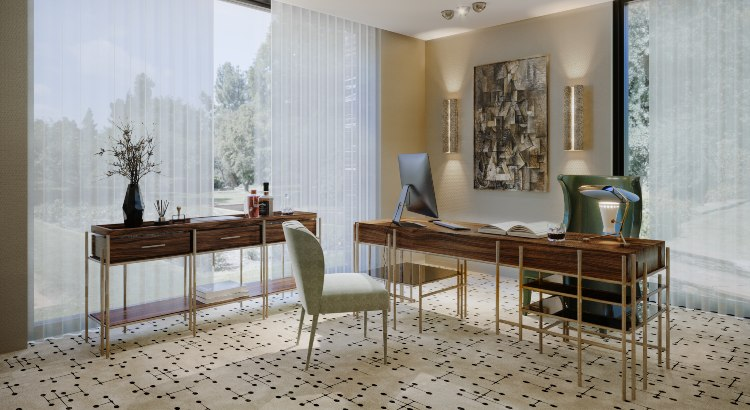 Modern Office Design: Fierce, Functional & Sophisticated Inspirations