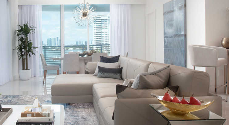 Dive into some of the Best Design in Miami with DKOR Interiors - Luxe South Beach Apartment