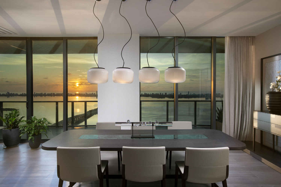 DKOR Interiors - Dive into some of the Best Interior Design in Miami - Modern Asian Miami Penthouse