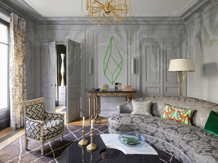 Jean-Louis Deniot Living Room Boulevard Magenta Project