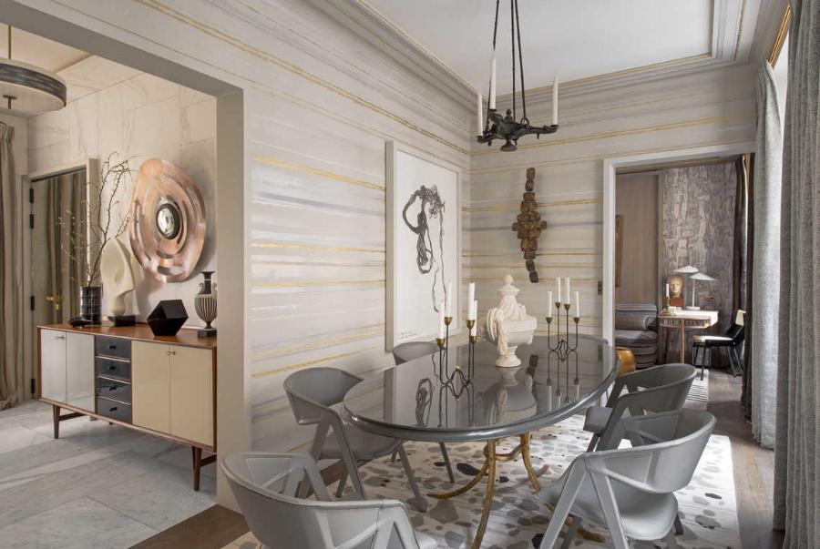 Jean-Louis Deniot Dining Room Rue de Lille Project