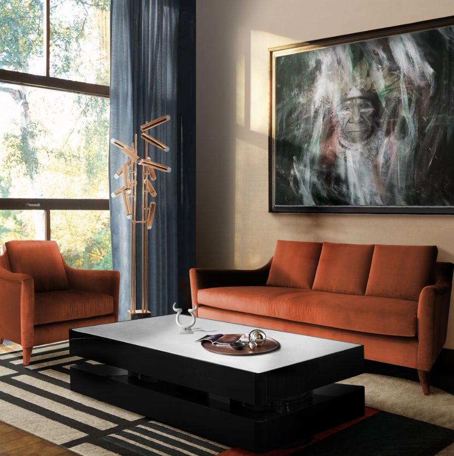 SHINTO Collection: The Fusion of Eastern Inspiration & Western Design living room