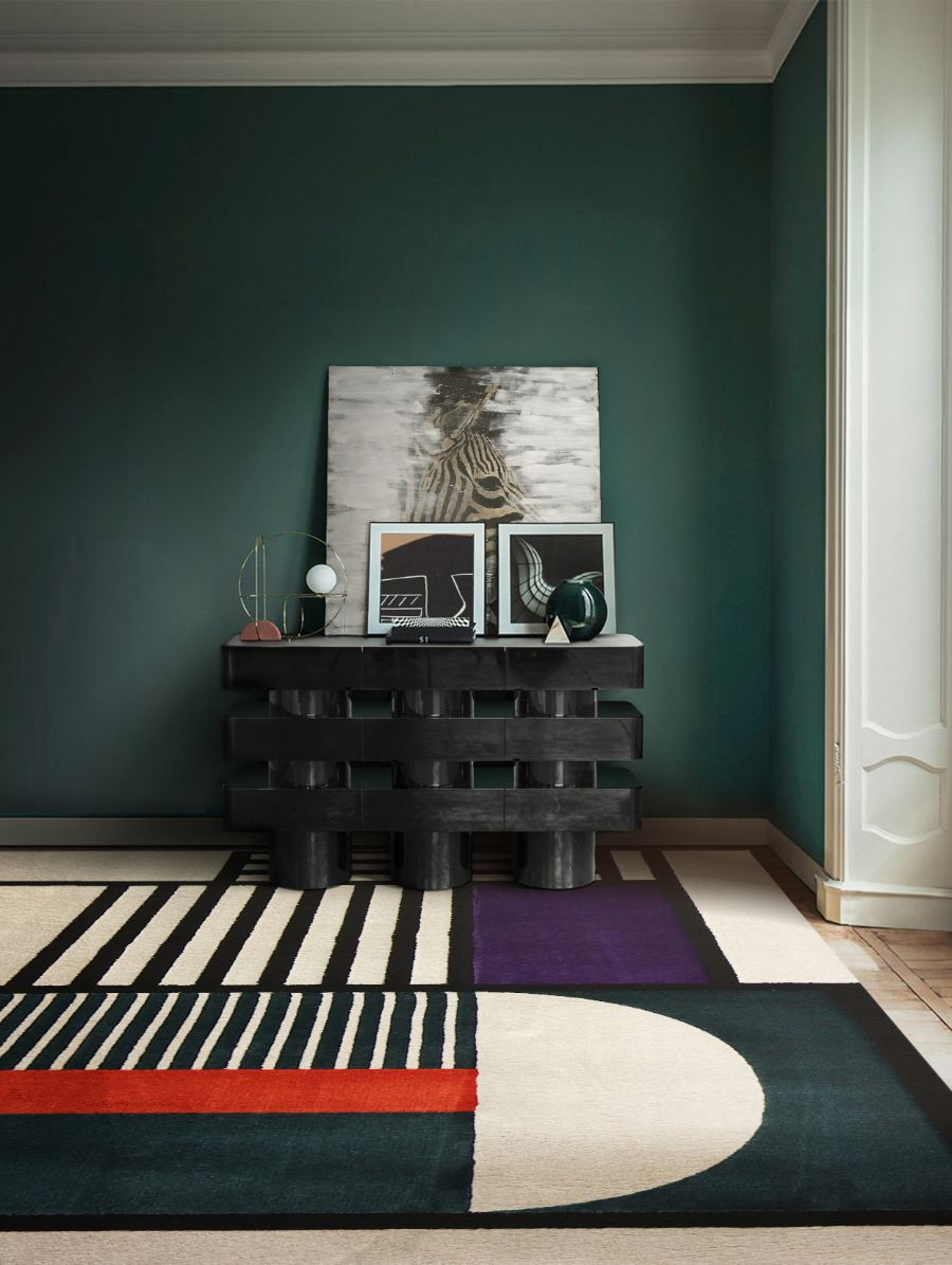 SHINTO Collection: The Fusion of Eastern Inspiration & Western Design hallway sideboard