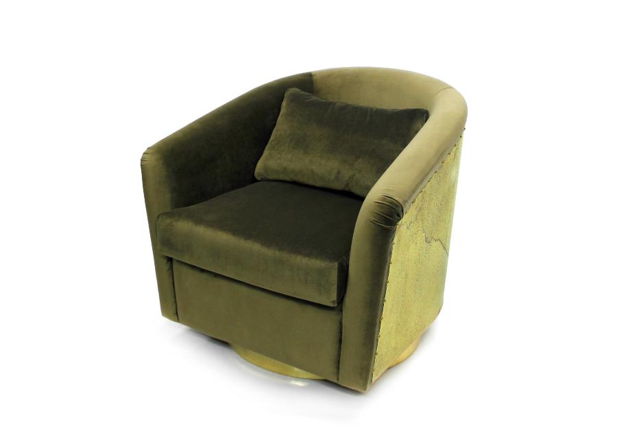 earth armchair by brabbu
