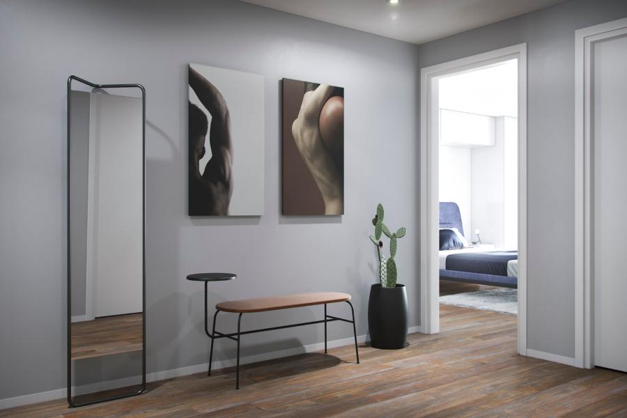 anastasia schuler design hallway contemporary