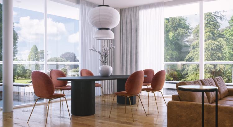 Living room anastasia schuler design contemporary interior