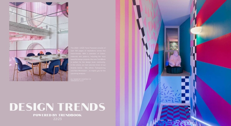 Design Trends 22 23 New Minimalism, 90s Trends & Transparency