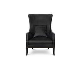 DUKONO Wingback Chair Modern Design by BRABBU is a wingback armchair that brings strength to a modern home decor.
