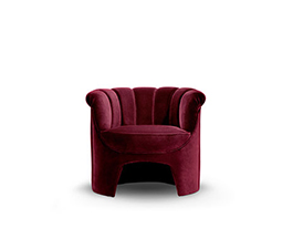 HERA Armchair Contemporary Design by BRABBU that will conquer all the living room sets.