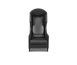 JOURNEY Wing Chair Modern Design by BRABBU is a strong yet pieceful piece ideal for a modern home decor.