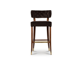 ZULU Bar Chair Mid Century Modern Furniture by BRABBU brings prestige to any living room set.