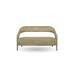TELLUS 2 Seater Sofa Modern Design by BRABBU is a twill sofa ideal for a modern home decor.