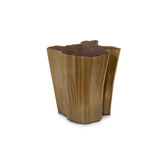 SEQUOIA Big Side Table Modern Design by BRABBU is a living room furniture piece ideal for a modern home decor.  Herbstsaison Inspirationen für Ihr Wohnzimmer sequoia side table big 1 HR