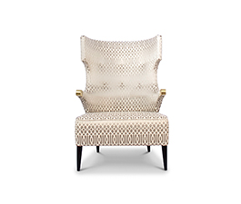 SIKA | Wing Chair Mid Century Modern Furniture by BRABBU
