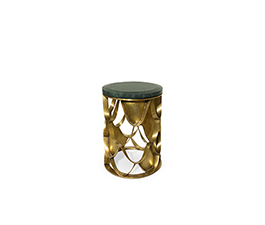 KOI | Brass Side Table Contemporary Design by BRABBU