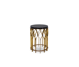 MECCA | Brass Side Table Modern Design by BRABBU