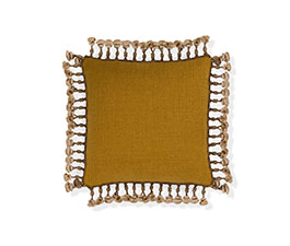 Anise | Twill Classic Design Pillow by BRABBU