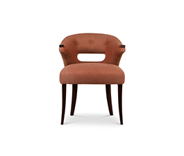 NANOOK RARE II Dining Room Chair Mid Century Modern Design by BRABBU
