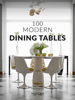 Dining tables can be a great detail in your interior if you use them well... See how we do it here!