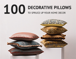 100 Decorative Pillows