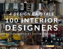 4 DESIGN CAPITALS - TOP 100 INTERIOR DESIGNERS